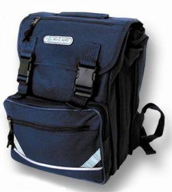 Blue Juice Junior 3 Division Drawstring Backpack - Navy