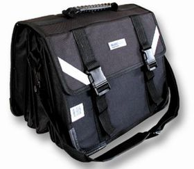 7 Division Senior Briefcase Backpack - Black