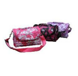 Tosca Sling Medium Fashion Vanity Case - Purple