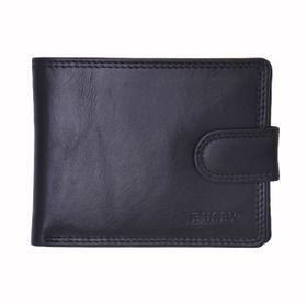 Busby Tuscany Billfold for Men Wallet - Black