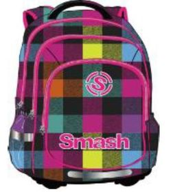 Smash Orthopedic Super Light 3 Division Printed Backpack - Pattern Blue