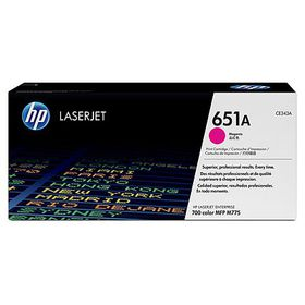HP 651A LaserJet Print Cartridge - Magenta