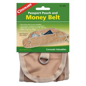 Coghlan's - Money Belt - Natural