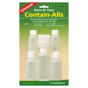 Coghlan's - Contain-Alls - Pack of 7