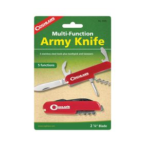 Coghlan's - Army Knife- Red