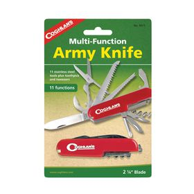 Coghlan's - Army Knife - Red