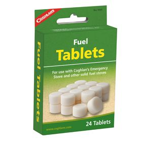 Coghlan's - Fuel Tablets - Pack of 24