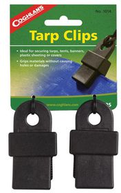 Coghlan's - Tarp Clips - Black