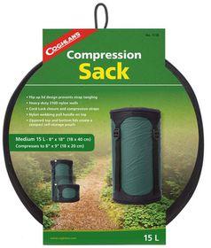 Coghlan's - 15L Compression Sack - Green & Black