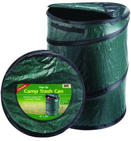 Coghlan's - Pop-Up Camp Trash Can - Green