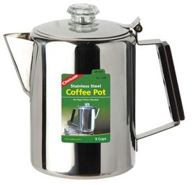 Coghlan's - 9 Cup Stainless Steel Coffee Pot