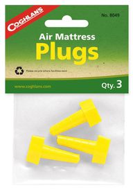 Coghlan's - Air Mattress Plugs - Yellow