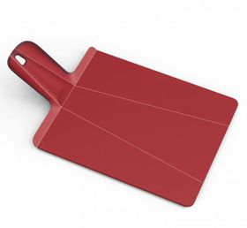 Joseph Joseph - Chop2Pot Plus Folding Chopping Board - Red - Large