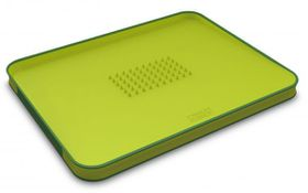 Joseph Joseph - Cut and Carve Plus Chopping Board - Green - Large