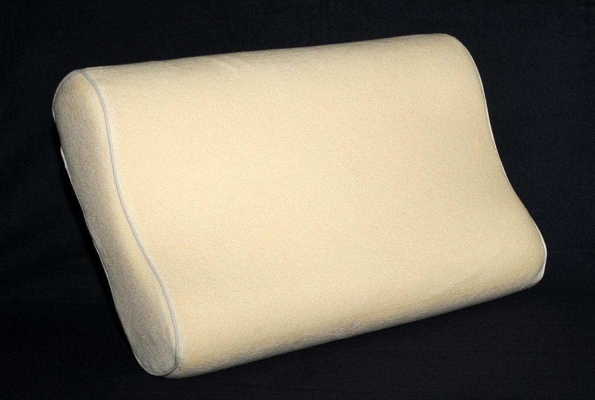 spine align contour pillow with memory foam loading zoom