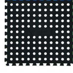 OZtrail - Pack of 4 Foam Floor Mats - Black