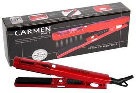 Carmen Steam Straightener - Red