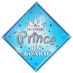Jackflash - Baby On Board Sign - Bling