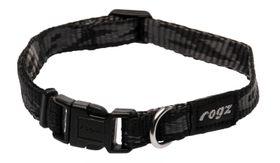 Rogz - Alpinist 11mm Dog Collar - Black