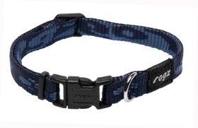 Rogz - Small Alpinist Kilimanjaro Dog Collar - 1.1cm Blue