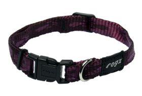 Rogz - Small Alpinist Kilimanjaro Dog Collar - 1.1cm Purple