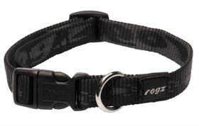 Rogz - Alpinist 16mm Dog Collar - Black