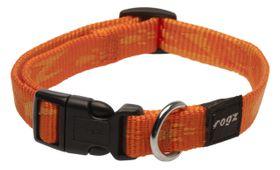 Rogz Medium Alpinist Matterhorn Dog Collar - 16mm Orange