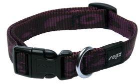 Rogz - Alpinist 16mm Dog Collar - Purple