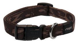 Rogz - Alpinist 16mm Dog Collar - Chocolate