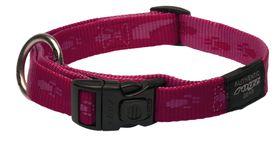 Rogz Large Alpinist K2 Dog Collar - 20mm Pink