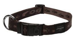 Rogz - Extra-Large Alpinist Everest Dog Collar - Chocolate