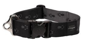 Rogz - Alpinist 40mm Dog Collar - Black
