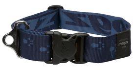 Rogz - Alpinist 40mm Dog Collar - Blue