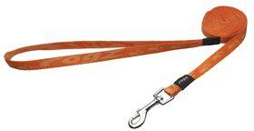 Rogz - Alpinist 11mm Fixed Dog Lead - Orange