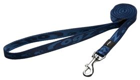 Rogz Medium Alpinist Matterhorn Fixed Dog Lead - 16mm Blue