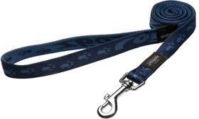 Rogz - Alpinist 20mm Fixed Dog Lead - Blue