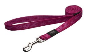 Rogz - Alpinist 20mm Fixed Dog Lead - Pink