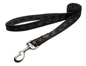 Rogz - Alpinist 25mm Fixed Dog Lead - Black
