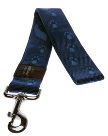Rogz - Alpinist Big Foot Fixed Dog Lead - 2 x Extra-Large - Blue