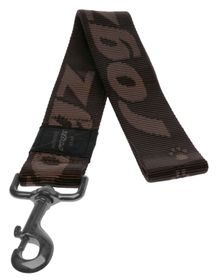 Rogz - Alpinist 40mm Fixed Dog Lead - Chocolate
