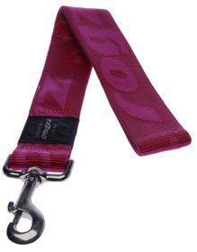 Rogz - Alpinist 40mm Fixed Dog Lead - Pink