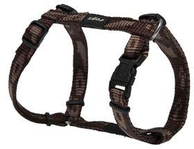 Rogz - Alpinist 11mm Dog H-Harness - Chocolate