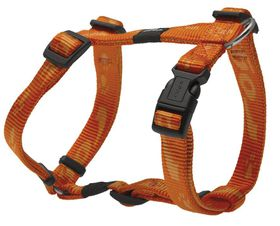 Rogz - Alpinist 16mm Dog H-Harness - Orange