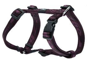Rogz - Medium Alpinist Matterhorn Dog H-Harness - 16mm Purple