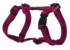 Rogz - Medium Alpinist Matterhorn Dog H-Harness Medium - 16mm Pink
