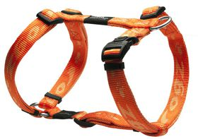 Rogz - Large Alpinist K2 Dog H-Harness - 20mm Orange