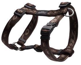 Rogz - Alpinist K2 Dog H-Harness - Large - 2cm Chocolate