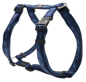 Rogz - Alpinist 25mm Dog H-Harness - Blue