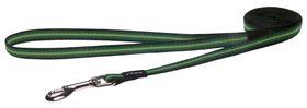 Rogz Pavement Special Midget Fixed Dog Lead Small - 11mm Green