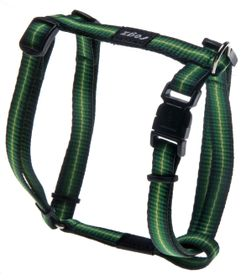 Rogz - Pavement Special Midget Dog H-Harness Small - 11mm Green
